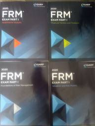 Livros FRM Exam Part I 2020