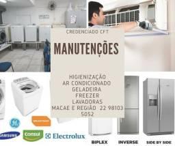 Consertos - Fogão - Maquina de lavar - refrigeradires