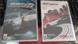 Kit 2 jogos Need for Speed e Shift2Unleashed