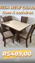 Mesa de jantar- Garanta a sua- Garantia de entrega e montagem!!