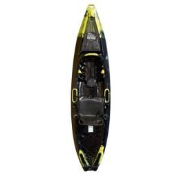 Caiaque Aimara Pro Polaris Nautica Preto/amarelo novo