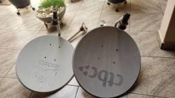 2 antenas para box