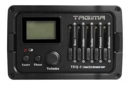 Pré-Equalizador Para Violão Tagima TEQ-5 Com Afinador