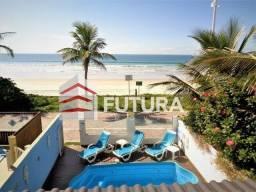 Casa frente mar com piscina praia de Bombas-Bombinhas/SC (LC123) Temporada