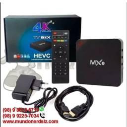 TV Box MX9 4K Ultra HD 4GB Ram + 32GB 5G Wi-Fi Android 10.1 em São Luís Ma