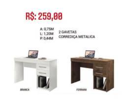 Mesa Para Computador 2 Gavetas