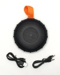 Caixa De Som XLS 238bt Bluetooth Preta Portátil 10w Potente À Prova de Água Nova na Caixa