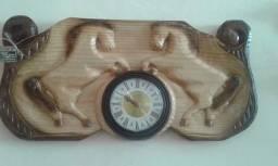 Relógio de parede rustico