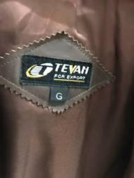 Jaqueta em couro Tevah