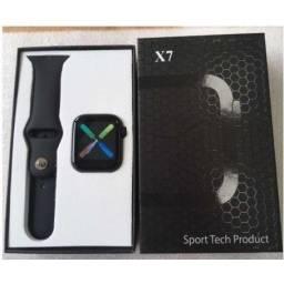 Relógio Smartwach X7 - Faz Ligações E Troca A Foto
