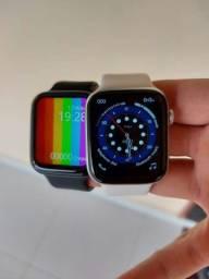 Smartwatch Inteligente IWO W26 Tela Infinita 44m Touch - Atende e faz Ligações<br><br>