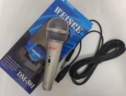 Título do anúncio: Microfone com fio (faço entrega)