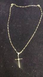 Cordão de ouro 18k 72cm