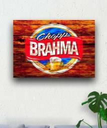 Quadro decorativo cerveja Brahma