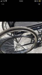 Carreira de rodas e higienica