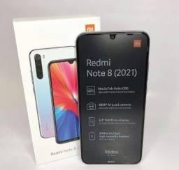 Título do anúncio: Redmi Note 8 2021 Lacrado- Até 10x cartão s/ juros