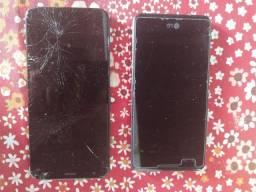 Vendo dois celulares para retirada de peças não sei se funcionam