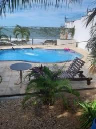 Aluguel de casa com piscina em frente ao mar em Iparana Caucaia