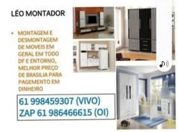 Título do anúncio: Montador de móveis disponível *