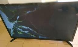 """Smart TV Samsung 32"""" TELA QUEBRADA"""