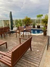 Linda Cobertura no Ocean Park , Dom Pedro I, 4 Quartos, deck privativo com piscina