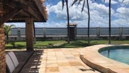 Casa pé na areia com 7 suítes à venda, 394 m² por R$ 2.500.000 - Morro Branco - Beberibe/C