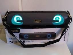 Título do anúncio: Caixa de Som Usb Bluetooth Kimiso Km-203 cinza