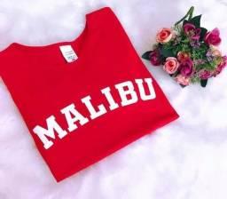 T-shirt Baby LOOK malibu usa