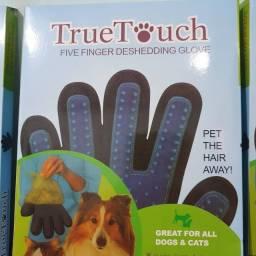 Luva Magnética para remover pelos de gato e cachorro.