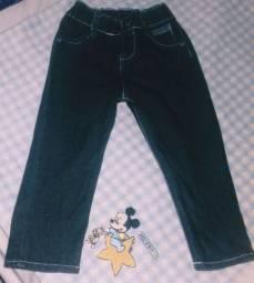 Calça Jeans Preta Infantil Masculina