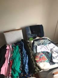 Lote 23 peças roupas novas e seminovas