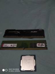 I3 7100. 4gb hyperX.  8gb kingston