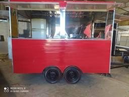 Treilher trailher Food truck direto da fábrica