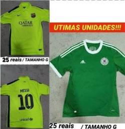 PROMOÇÃO IMPERDÍVEL Camisas de futebol!!! 25 REAIS