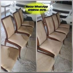 Limpeza a Seco de Cadeira Sofá Colchão