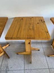 Mesas e cadeiras para restaurante ou bar