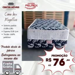 Título do anúncio: Cama cama cama cama de solteiro PELMEX nova da loja