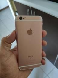 iPhone 6 S 32 GB na Garantia. C/nota Rosa