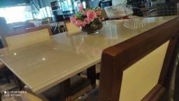 Título do anúncio: Mesa nova completa pronta de 4 lugares pintura laka e madeira