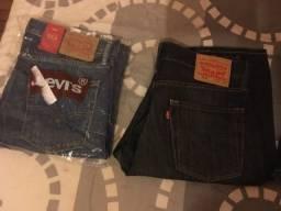 5 calça levis 3novas e 2 pouco uso n 42 Brasil originais 250,00