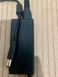 Carregador/Fonte DELL, modelo: LA65NS2-01 - 65 Watt, (bico grosso).