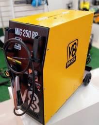 Título do anúncio: Máquina de solda MIG 250 BR V8 Brasil 220V mono