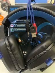 Headset gamer led