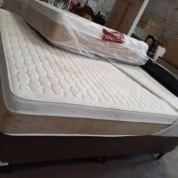 Venda de cama colchão  mais box