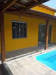 JS: casa 2 quartos sendo 1 suite, piscina e area gourmet. condominio a beira de praia.
