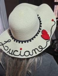 Título do anúncio: Chapéu de praia personalizado