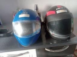 Quero vender esses capacete