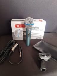 Microfone Dinâmico D-m58