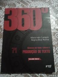 360°  LEITURA E PRODUÇÃO DE TEXTO volume único
