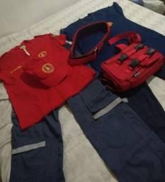 Fardamento bombeiro civil